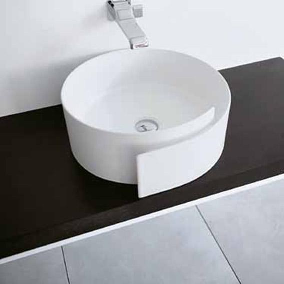 lavabo a pose blanc 44 roll rl44l dor mail. Black Bedroom Furniture Sets. Home Design Ideas