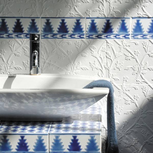 carrelage m diterran en carreaux d cor s la main heritage dor mail. Black Bedroom Furniture Sets. Home Design Ideas