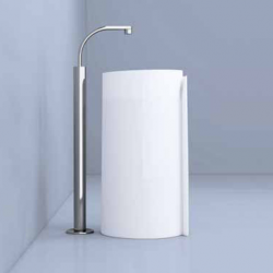 LAVABO F.STAND BLANC MONOROLL MR44C