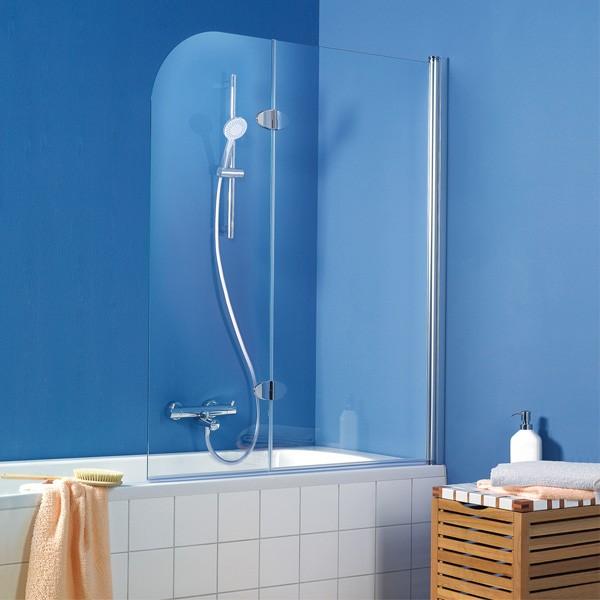 Pare baignoire tunisie vente de pare baignoire 2 volets hsk for Paroi de baignoire sous pente
