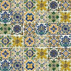 PATCHWORK TUNISIAN DESIGN